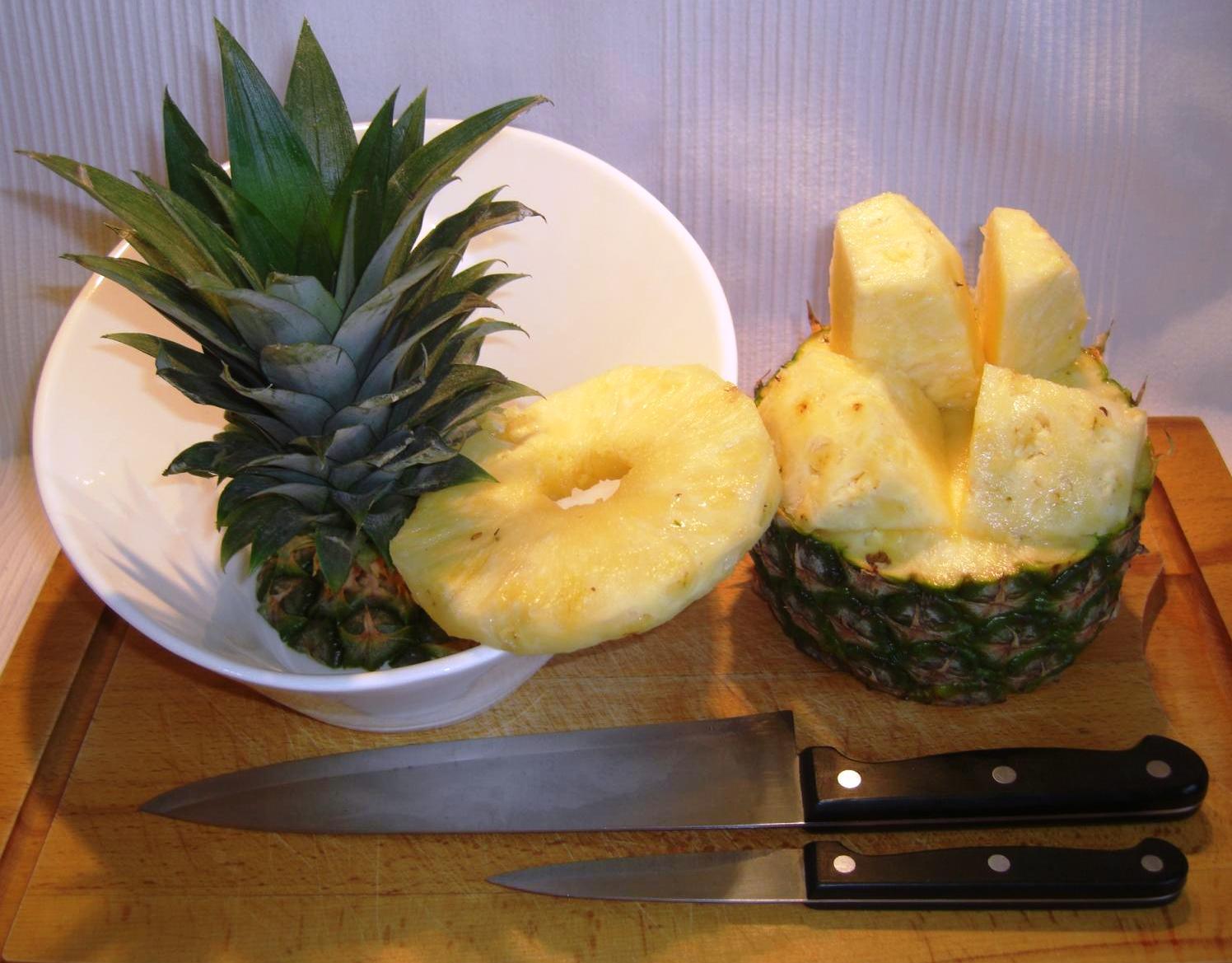 Ananas Scheiben oder WürfelBIG