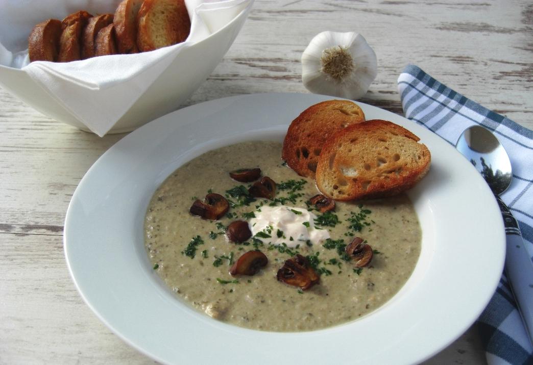 Champignoncreme suppe