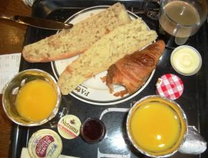 Frühstück bei Paul