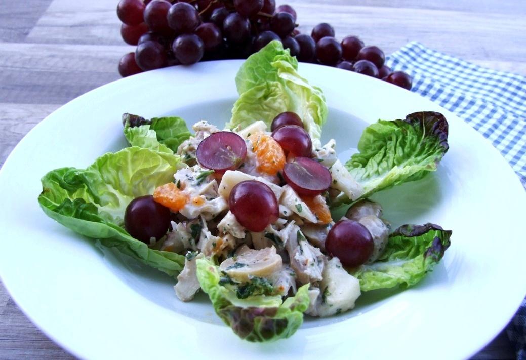 geflügelsalat mit spargel rezepte