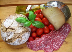 Italienische Brotzeit