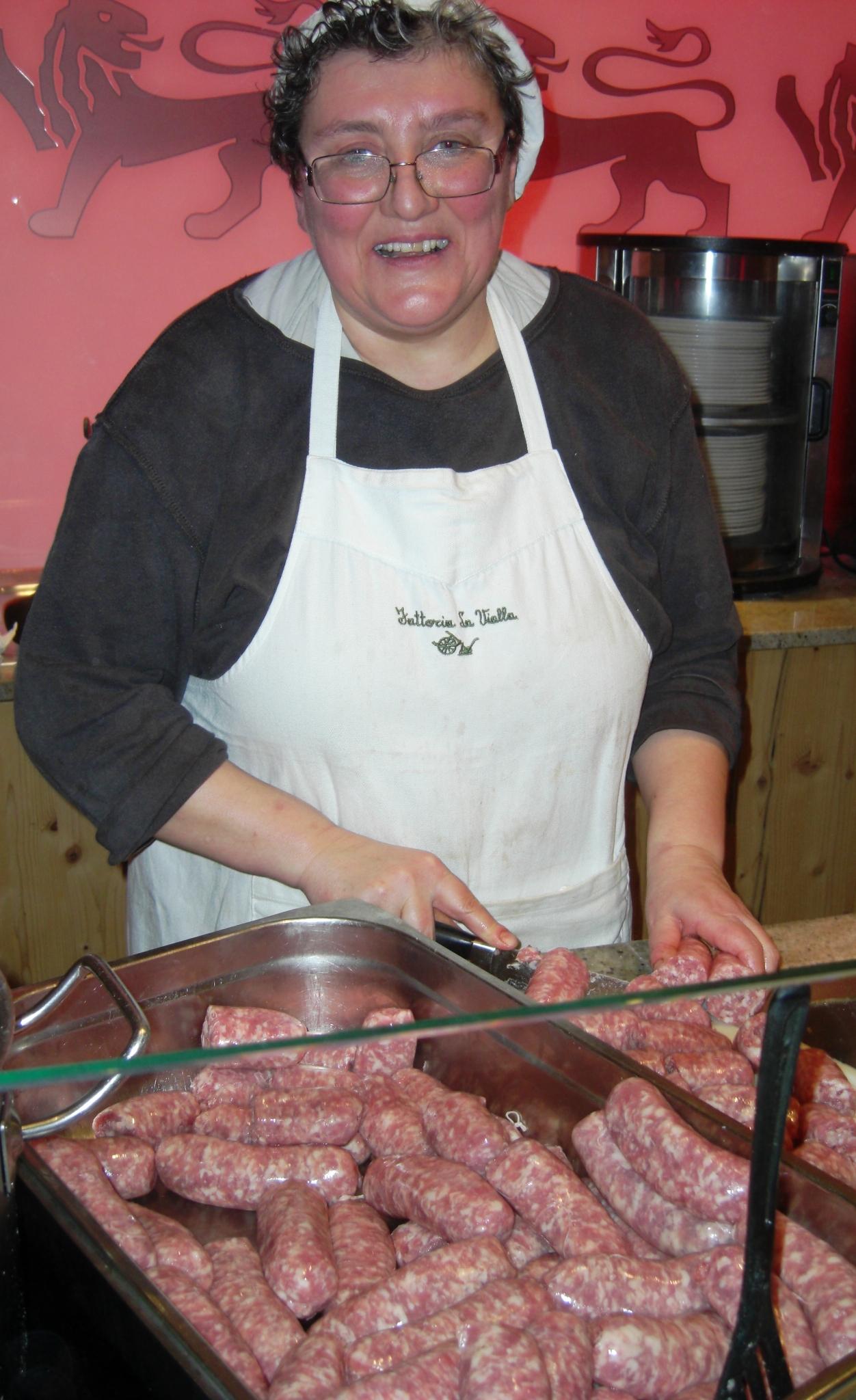 Live kochen mit Gabriella