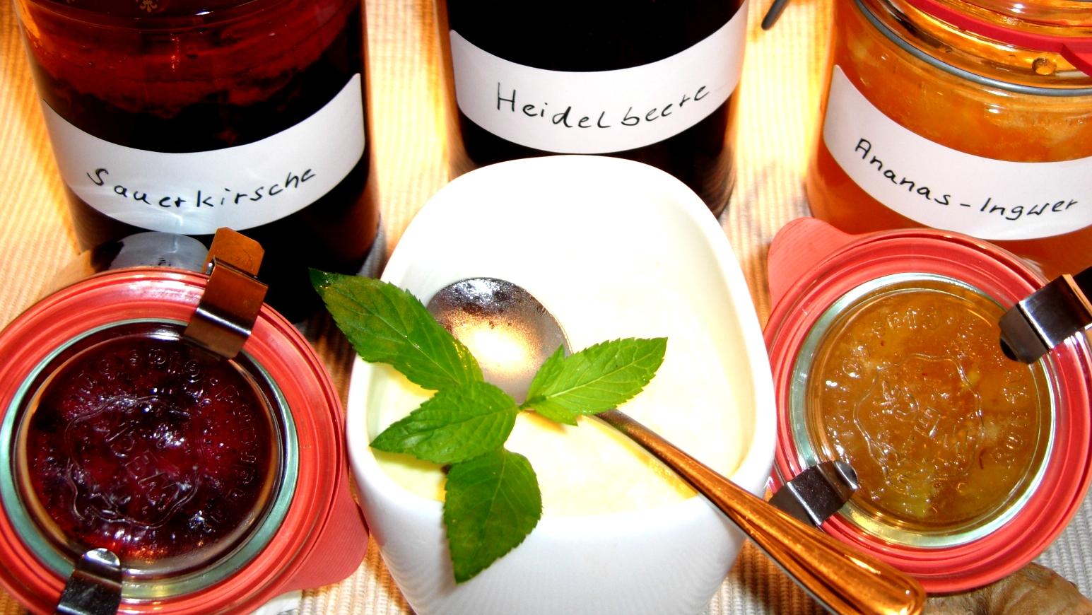 Marmeladen und Eis Magazin