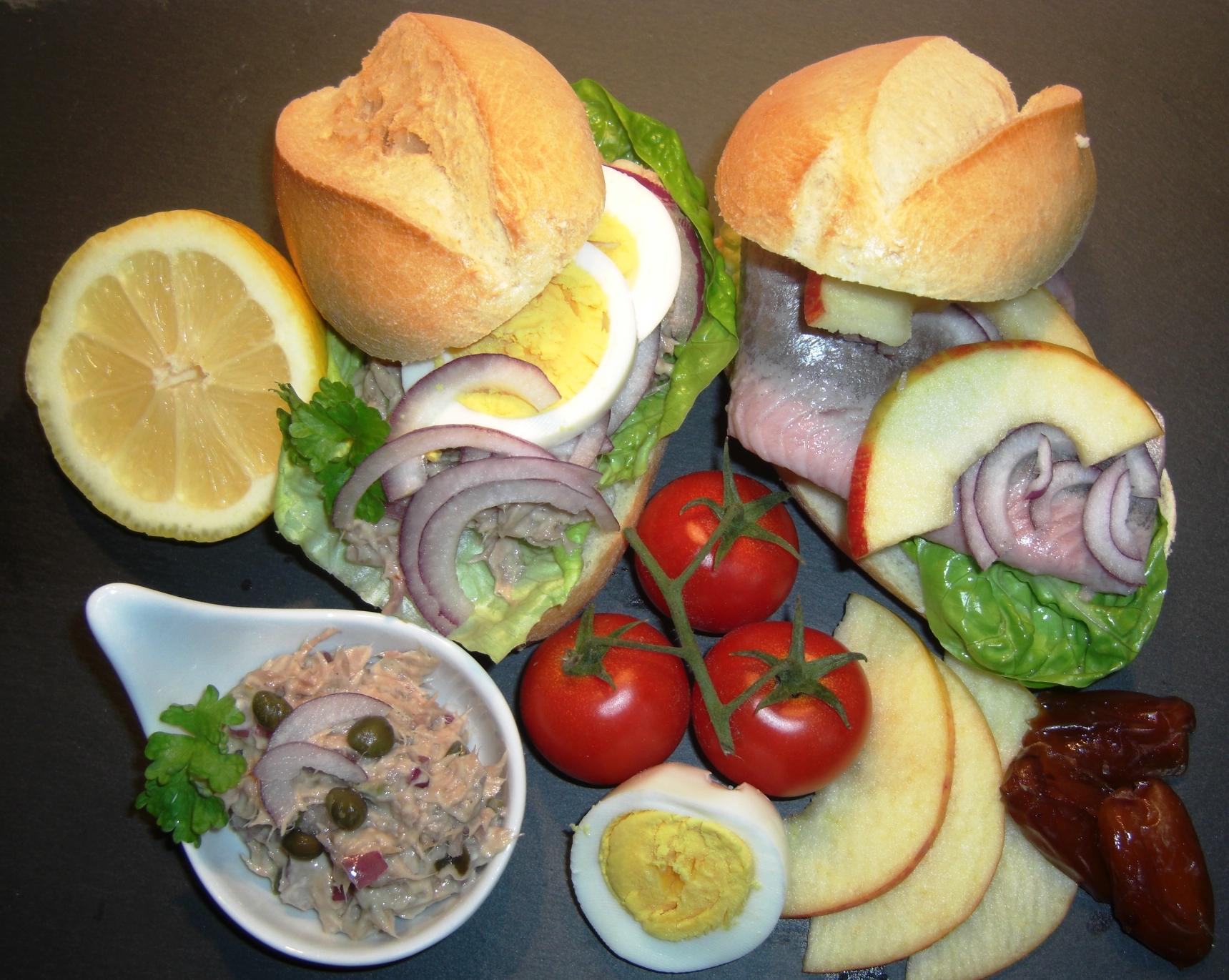 Matjes, Thunfisch Katerfrühstück