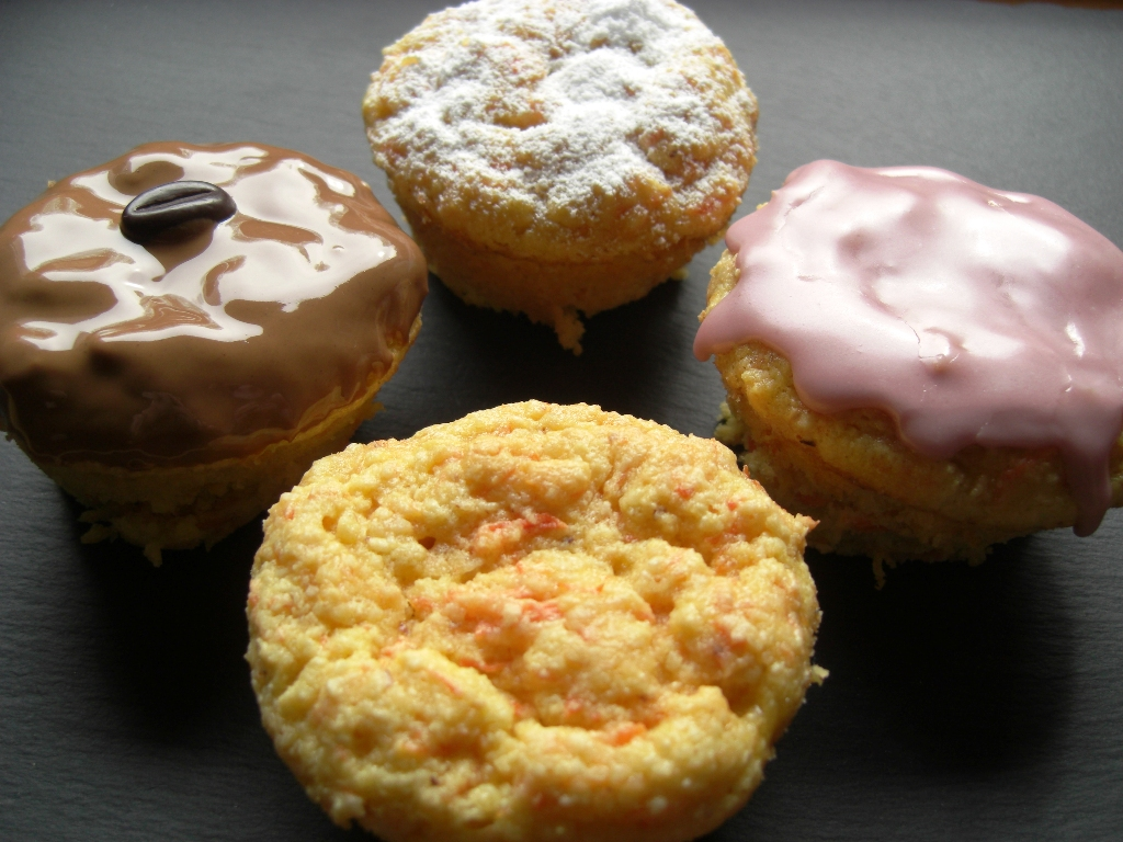 Rübli Muffins mit Toppings