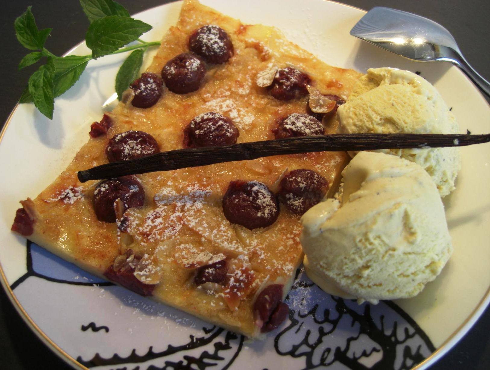 Rezept Blech Pfannkuchen mit FrüchtenBIG