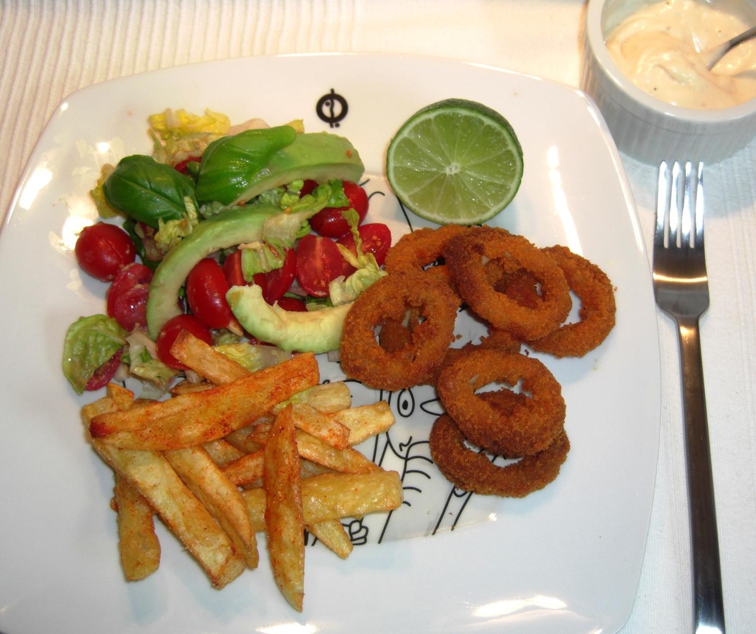 Rezept Calamari mit Salat Andalusia NEU
