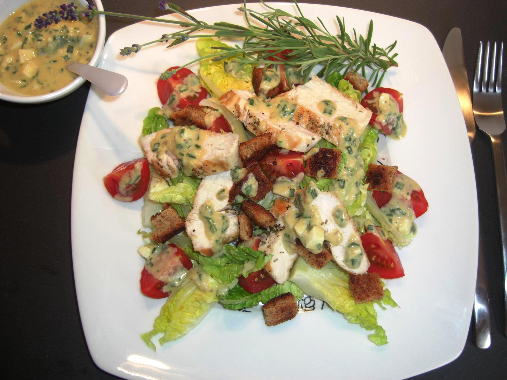 Rezept Cesars Salad DeluxeBIG