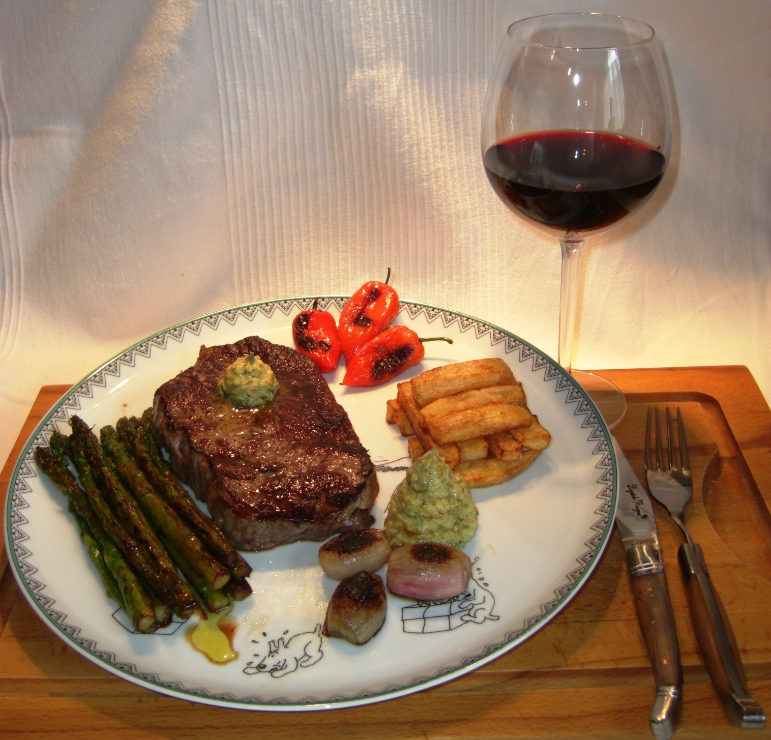 Rezept Das perfekte Steak BIGNEU