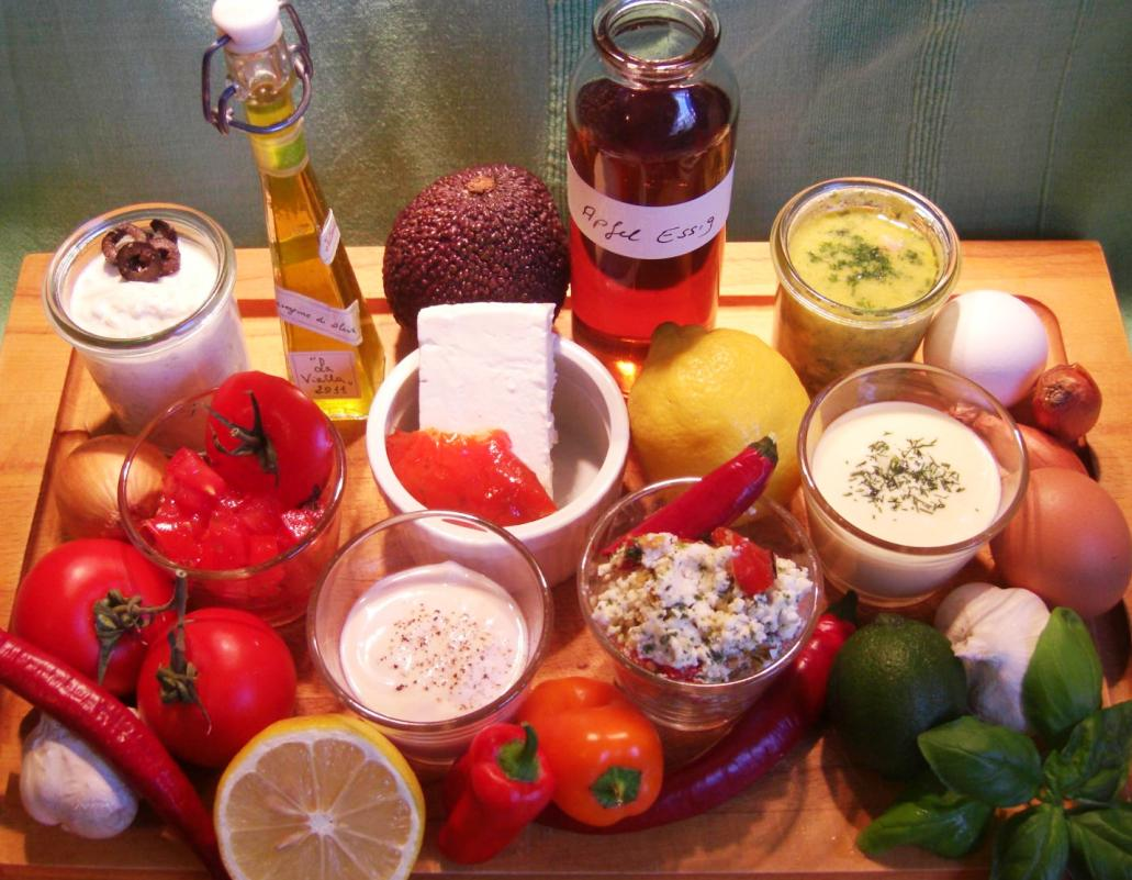 Rezept Dips Salatsoßen BrotaufstrichNEU