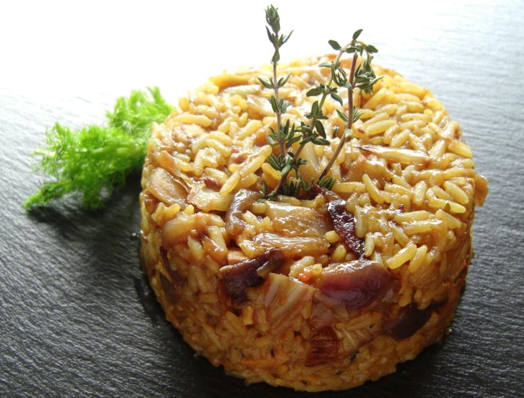 Rezept Fenchel Reis Pfanne
