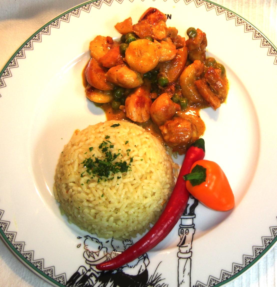 Rezept Hähnchen Curry NEU