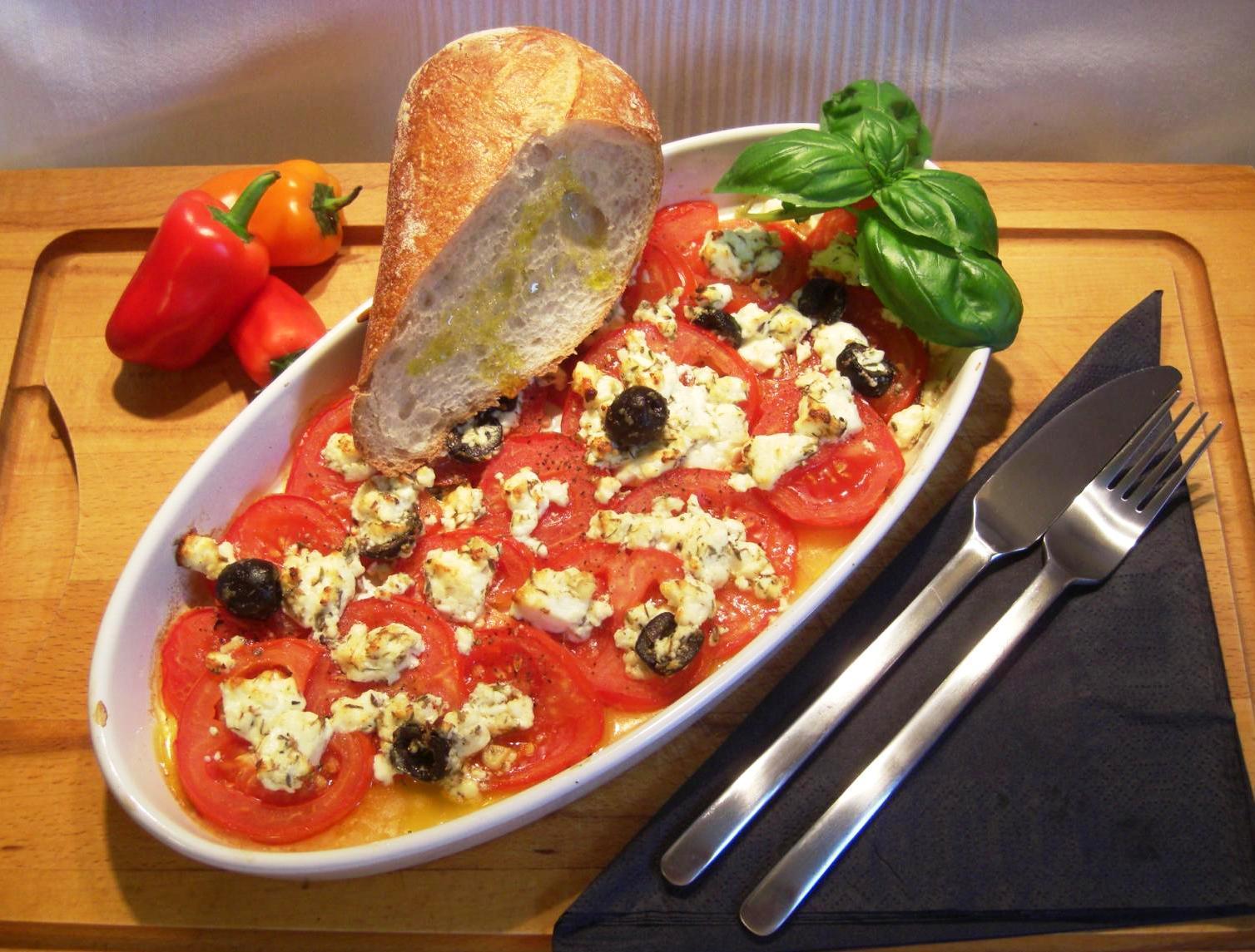 Rezept Italienisches TomatenpfännchenBIG