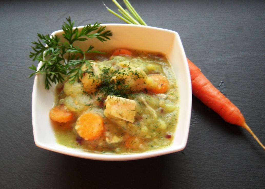 Rezept Lachs Kartoffel Creme
