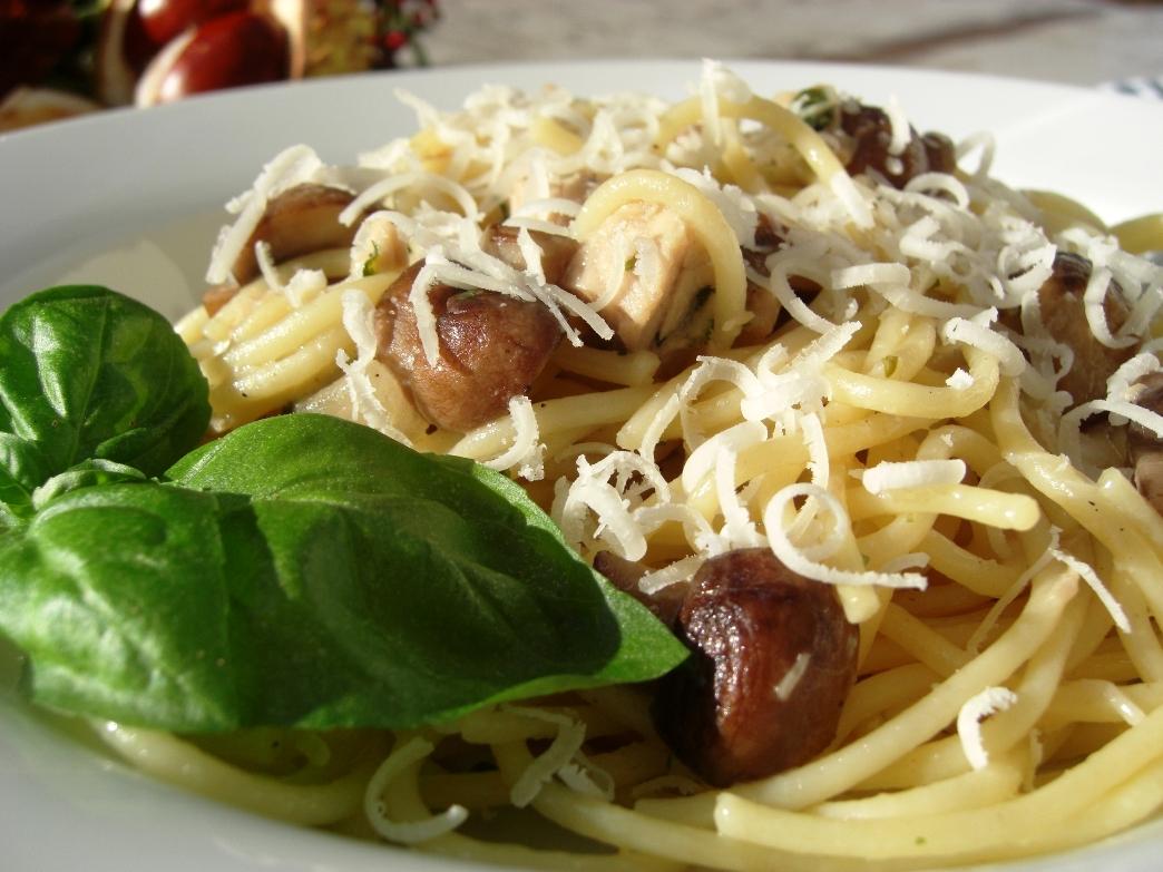 Spaghetti al Funghi zoom