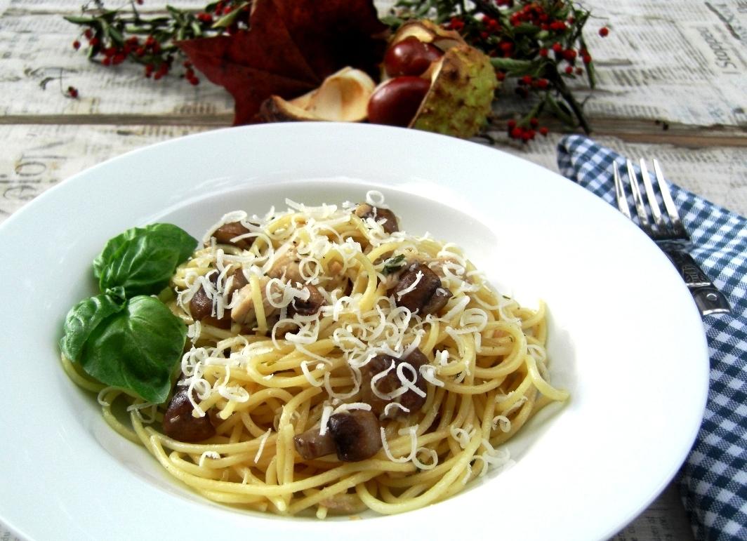 Spaghetti al Funghi