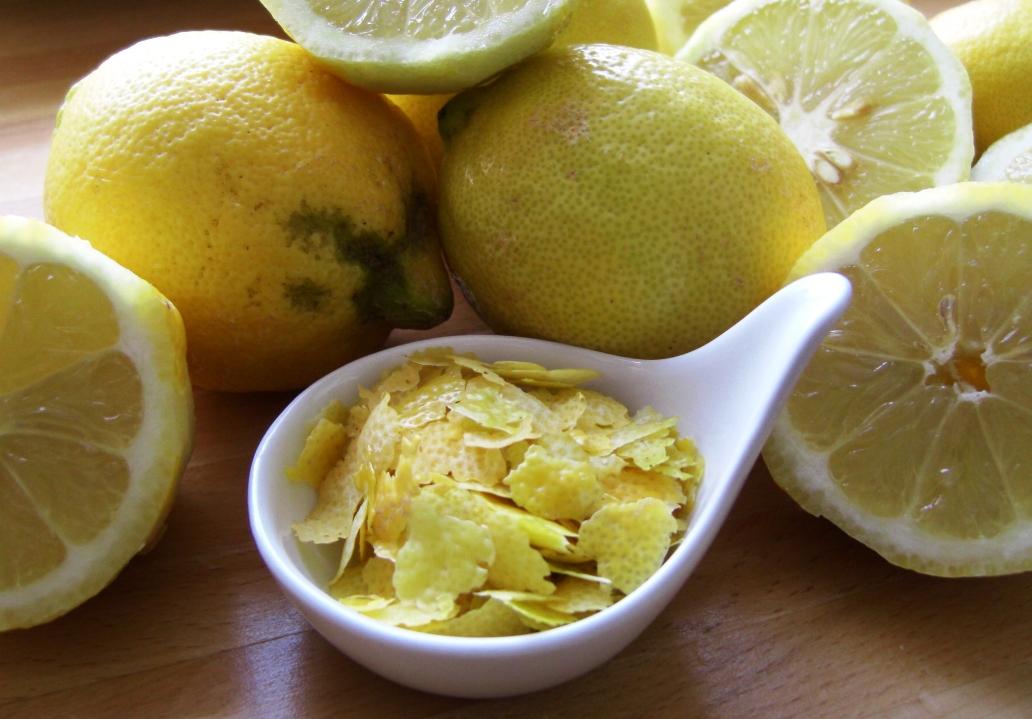 Zitronen Zesten