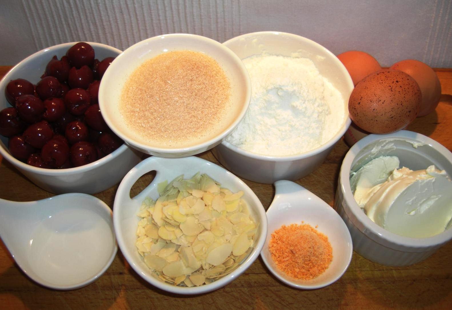 Zutaten Blech Pfannkuchen mit FrüchtenBIG