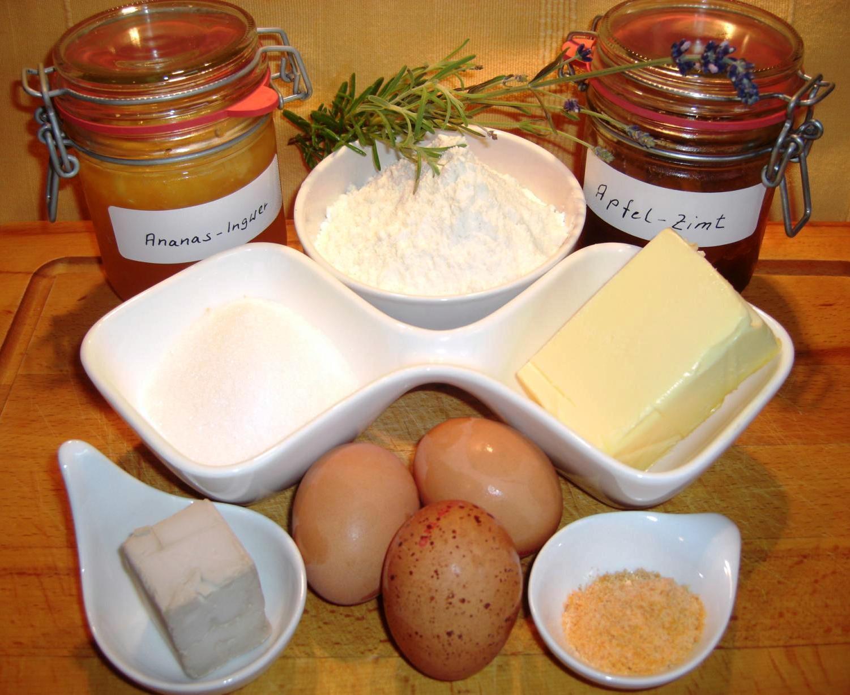Zutaten Buchteln mit MarmeladenfüllungBIG
