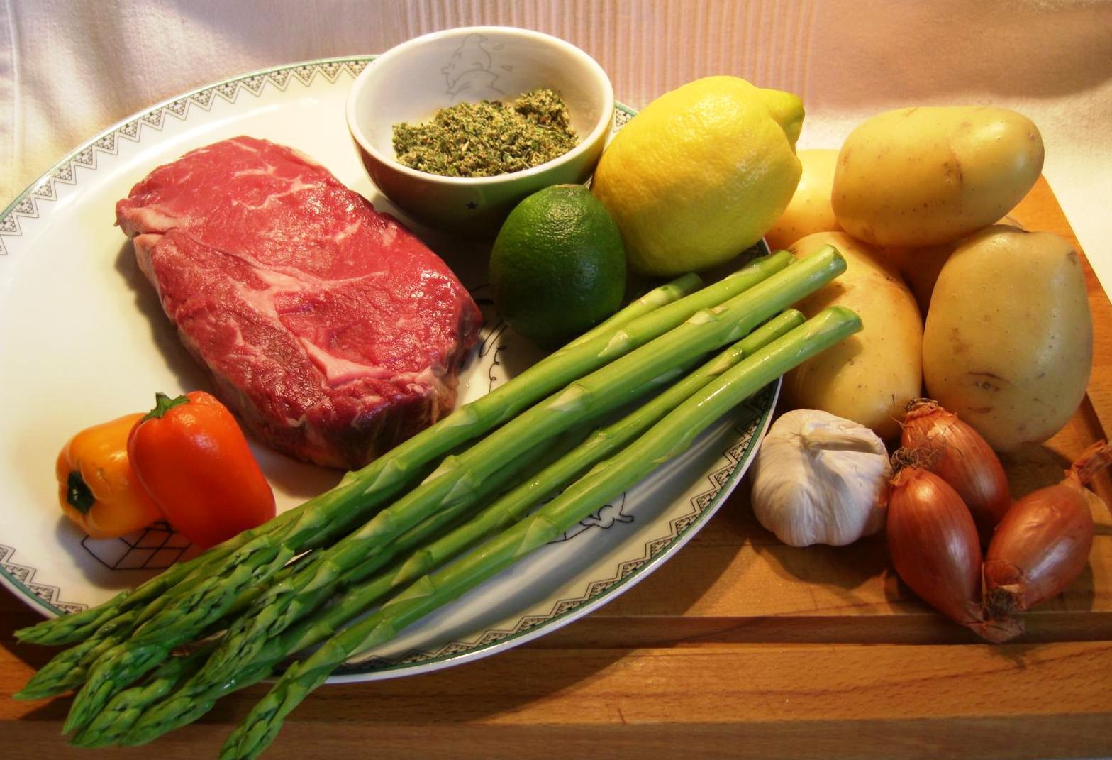 Zutaten Das perfekte SteakBIG