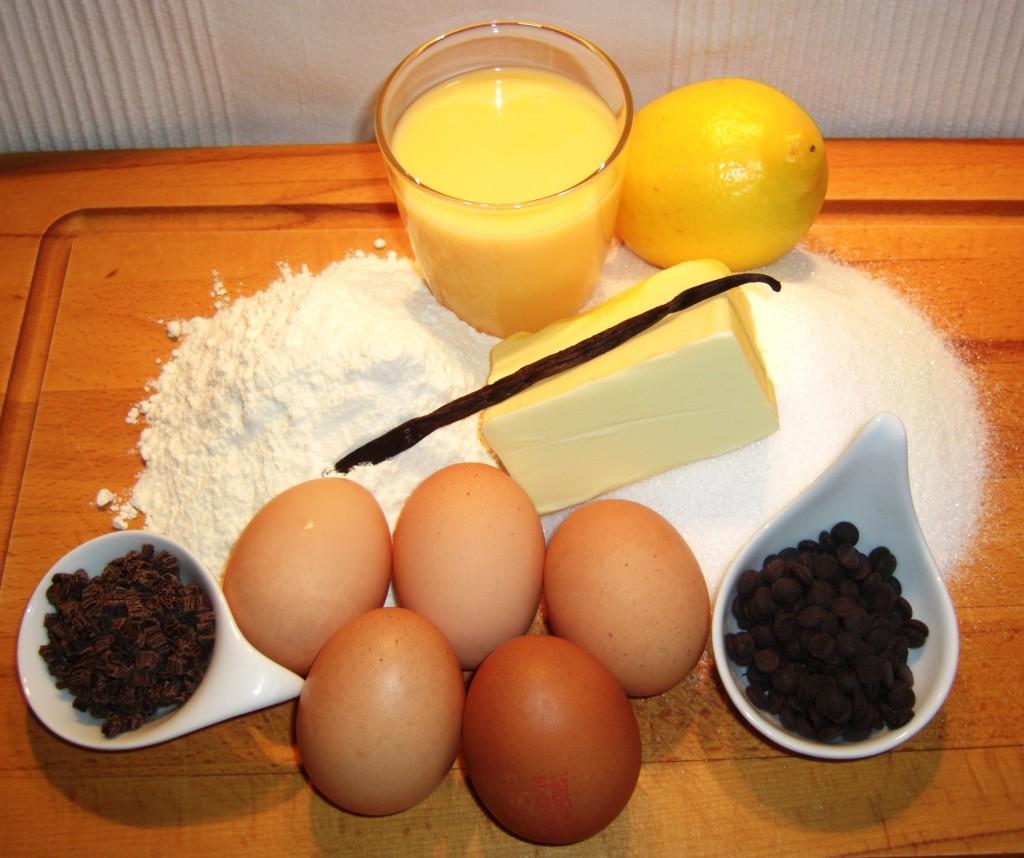 Zutaten Eierlikörkuchen
