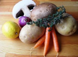Zutaten Gemüseplatte