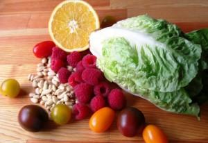 Zutaten Gourmet Salat