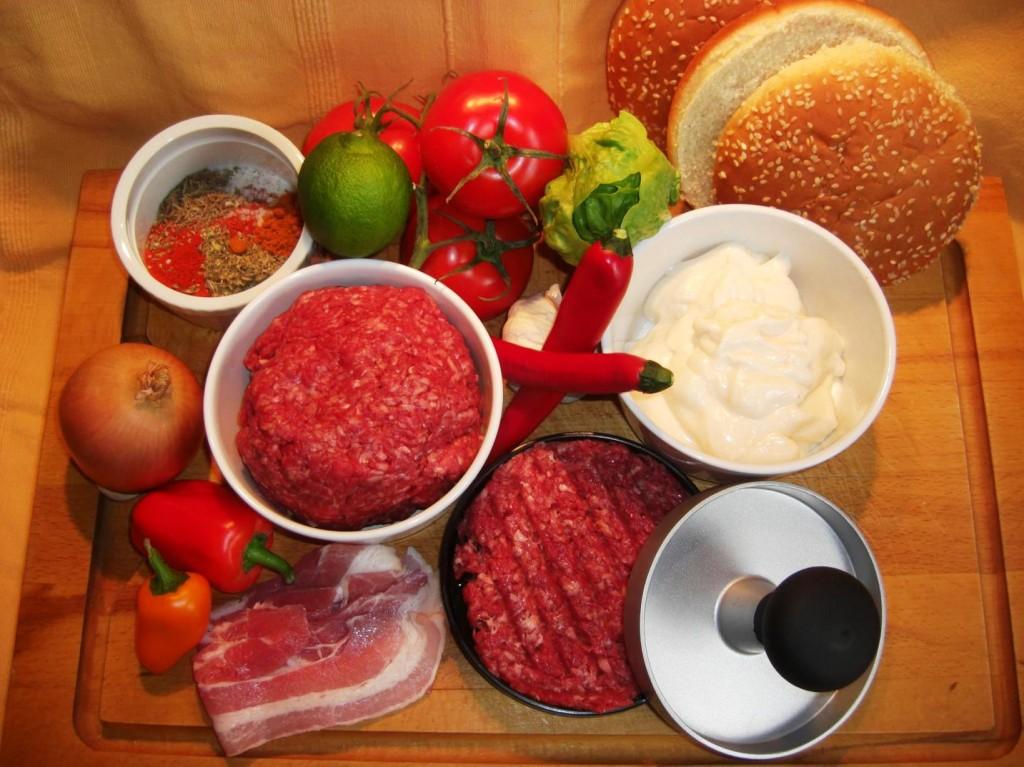 Zutaten HamburgerBIG