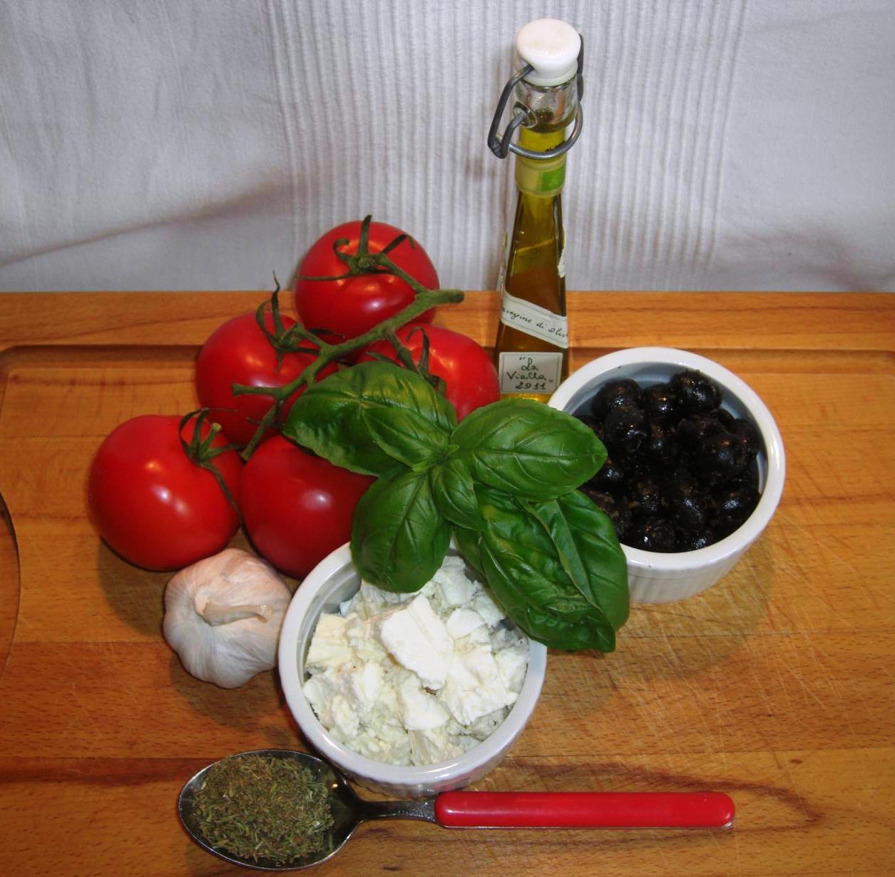 Zutaten Italienische TomatenpfännchenBIG