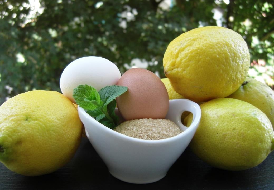 Zutaten Lemon Curd