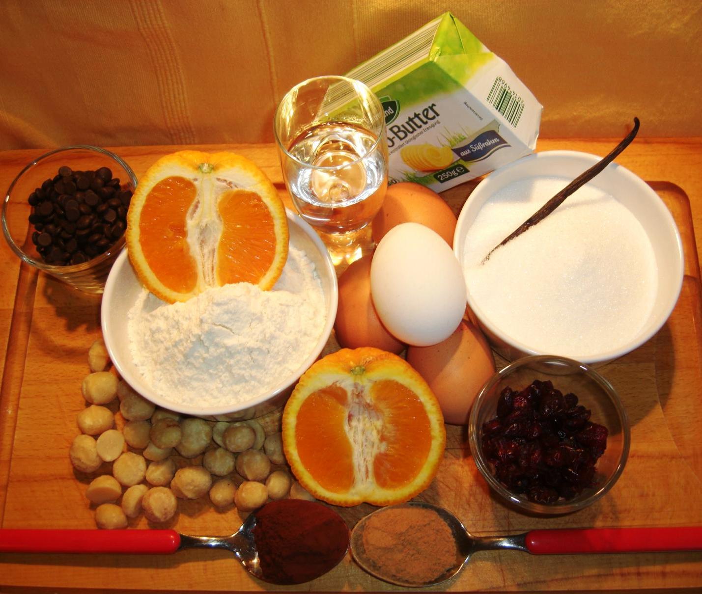 Zutaten Orangenlikör KuchenBIG