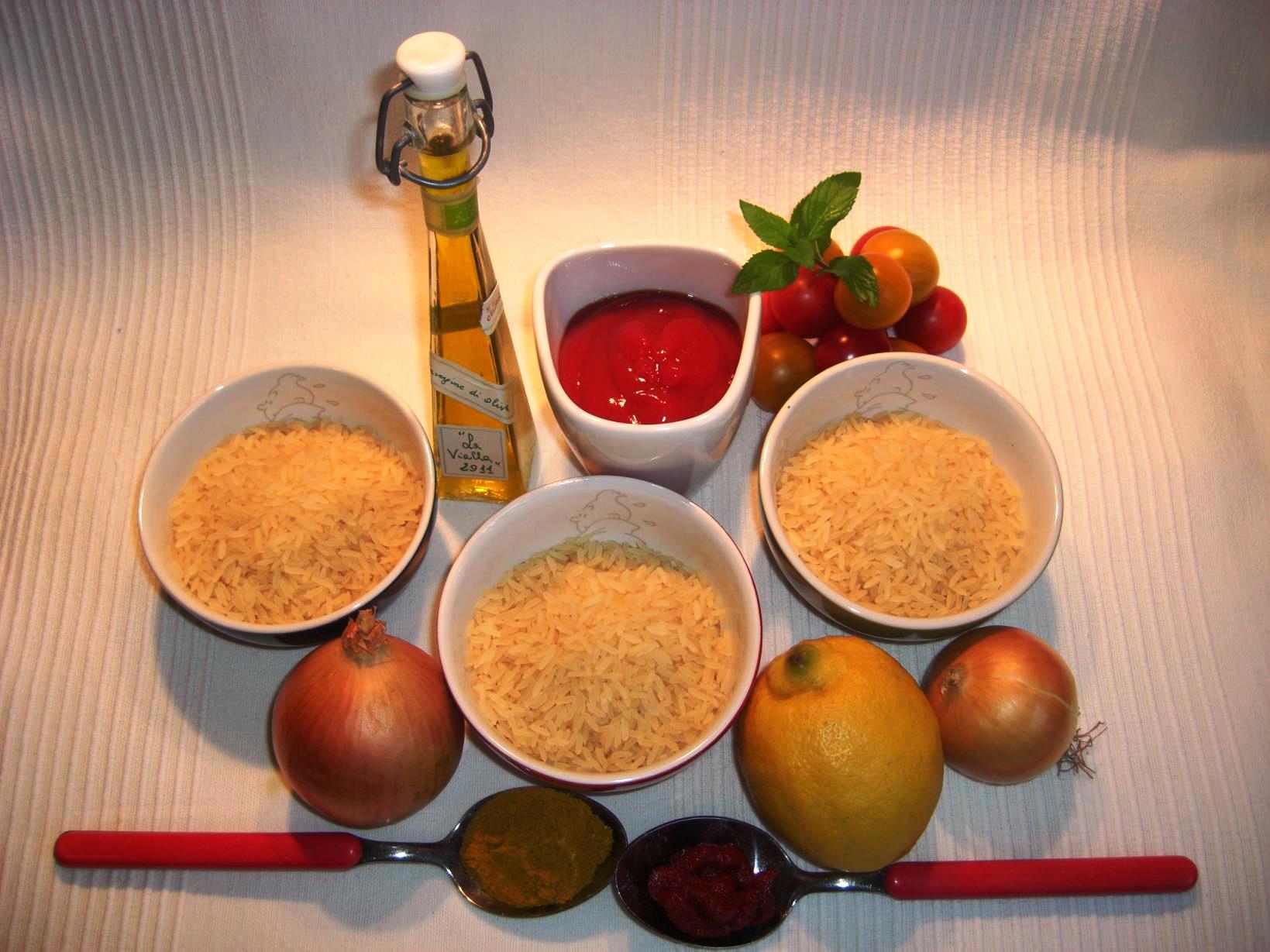 Zutaten Reis VariationenBIG