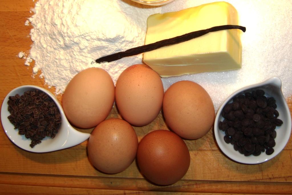 Zutaten Schoko Rotweinkuchen