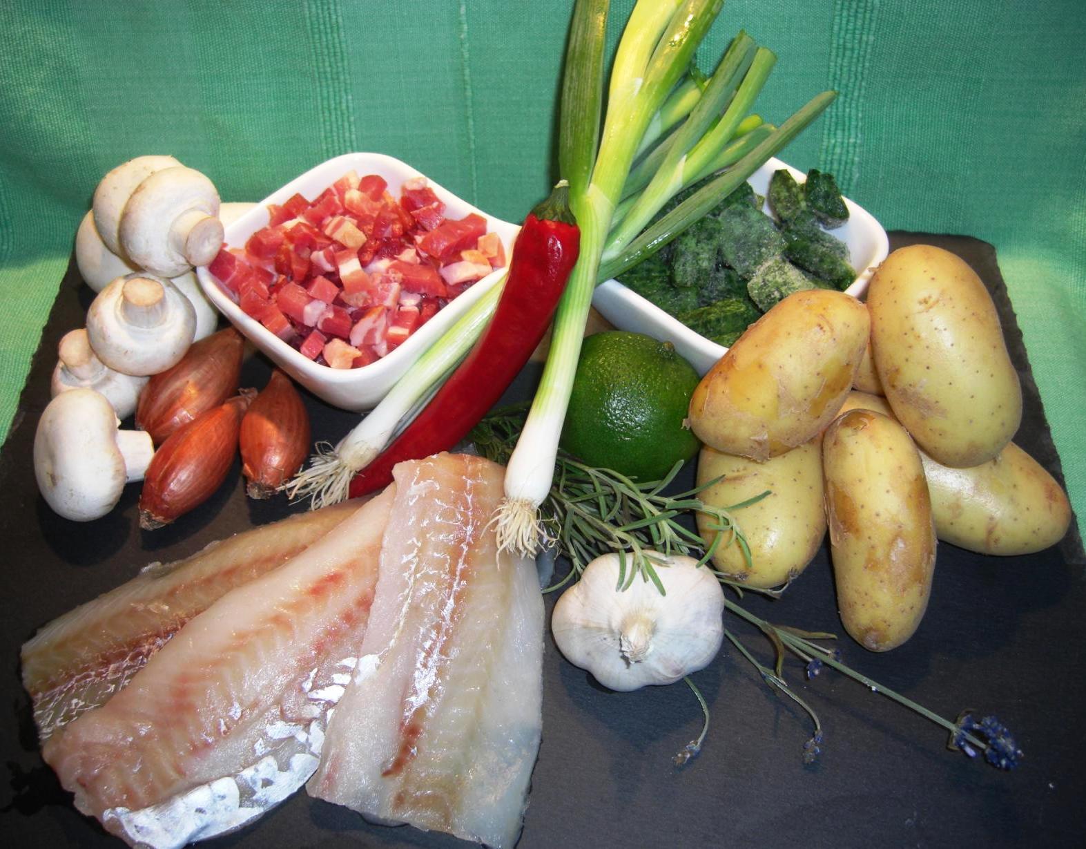 Zutaten Schwedischer BackfischBIG